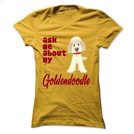 Funny Goldendoodle Tshirt - #tee times #linen shirts. I WANT THIS => https://www.sunfrog.com/Pets/Funny-Goldendoodle-Tshirt.html?60505