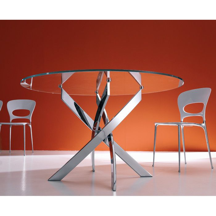 Bontempi Casa Barone Dining Table & Reviews | AllModern