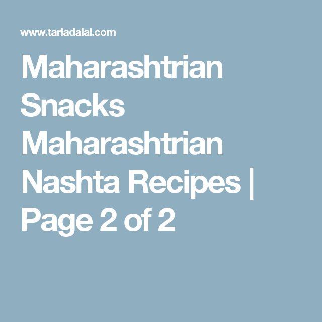 Maharashtrian Snacks Maharashtrian Nashta Recipes | Page 2 of 2