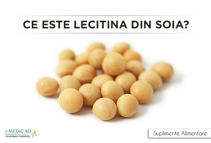 Lecitina din soia reprezinta un amestec de fosfolipide obtinute din procesul de fabricare al boabelor de soia, fiind utilizat ca emolient sau in pregatirea anumitor tipuri de alimente si mancaruri - http://www.i-medic.ro/diete/suplimente/ce-este-lecitina-din-soia