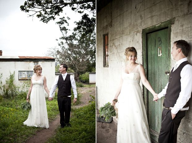 Organic cotton voile & sateen with crochet blooms for Kelly Fisher #EcoBride
