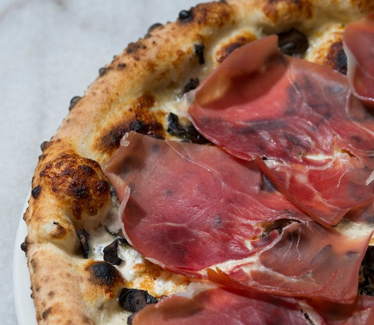 The Harrison restaurant lists more than 40 kinds of pie, such as margherita and meatball, and sweet variations like Nutella and vanilla bean.