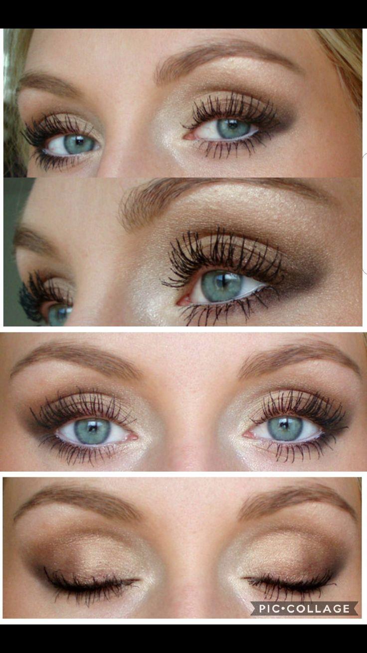 Bronzed eye makeup - josieholmlund