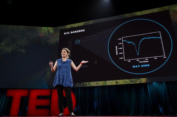 #TED 2016 - Slides designed by us on the big TED stage! #storytelling #illustration