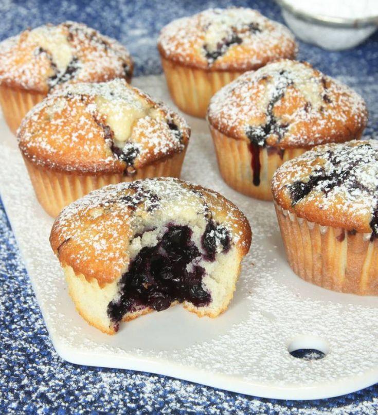Saftiga, härliga blåbärsmuffens – klicka här för recept!