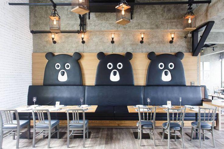 Restaurant Interior Design Like a Teddy Bear Factory – Fubiz Media