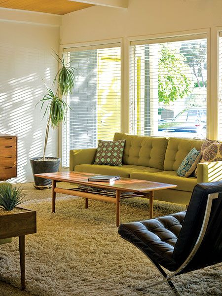 30 best cool living room ideas - Retro Living Room Ideas