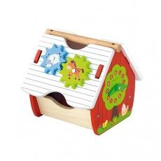 Viga - Wooden Activity Farm Shape Sorter -its perfect for play and learn and coordination. we love wooden toys and the hours you can spend playing and exploring with them #pintowin #entropywishlist