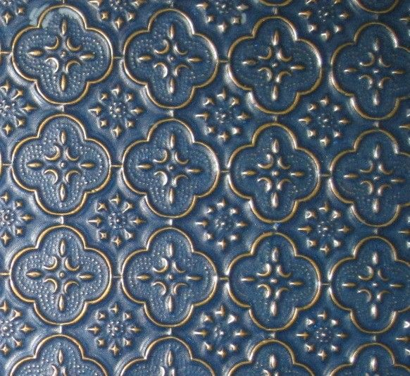 kitchen backsplash, kitchen backsplash, kitchen design, tiling, Backsplash WC 20 Navy Blue Gold