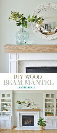 I love the color stain on the mantel. 2 coats min wax weathered oak. Some coastal colors lean too far grey. This is light and brings balane.