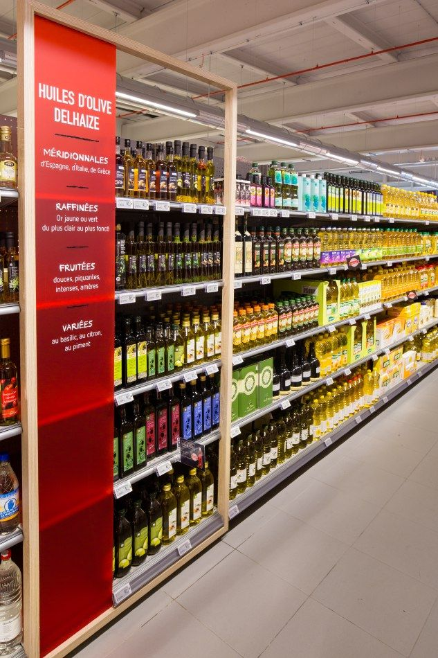 Delhaize by Minale Design Strategy - Retail Design - Product's highlight