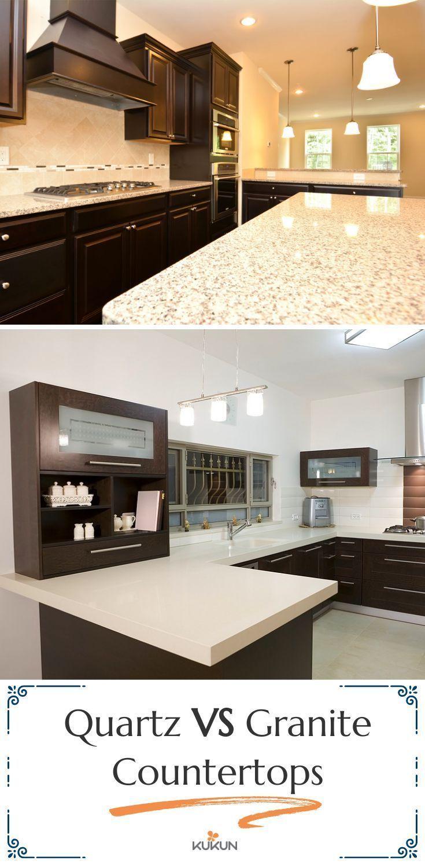 Quartz Vs Granite Countertops The Pros And Cons Granite Countertops Kitchen Quartz Vs Granite Countertops Countertops
