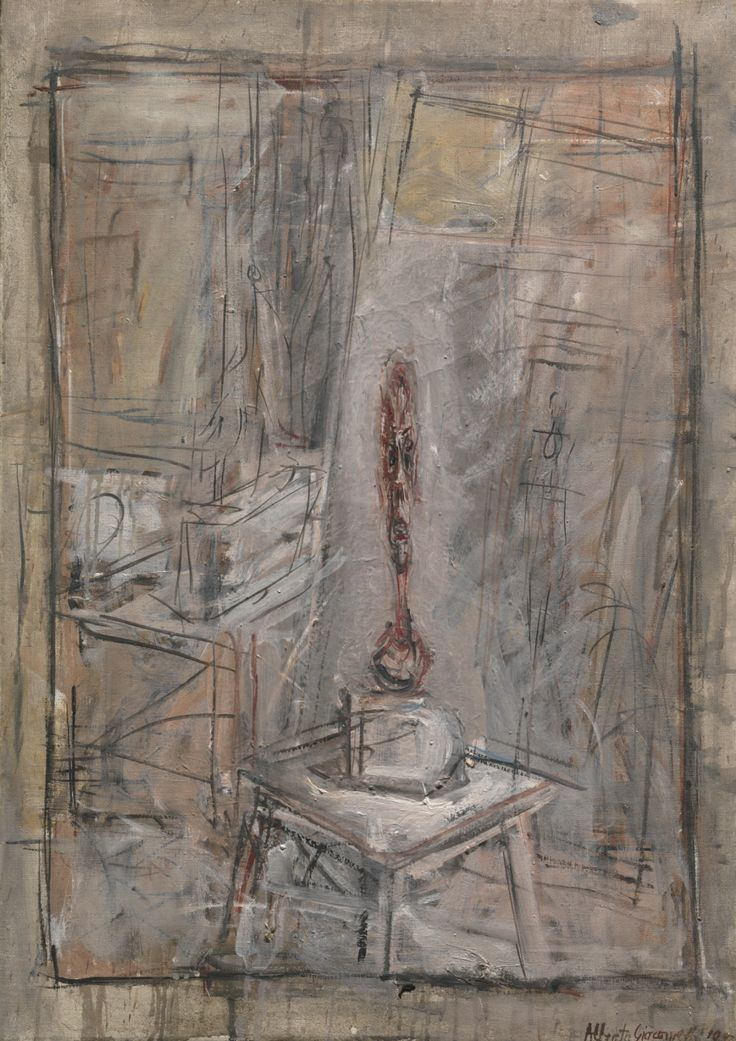 Atelier I (1950) - Alberto Giacometti