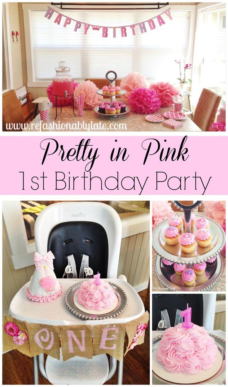 Birthday Party Decor fit for a Princess! :)  - www.refashionablylate.com
