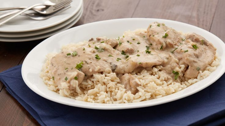 Chicken thighs get a major upgrade with an easy, creamy ranch sauce made from a few simple ingredients in the slow cooker.