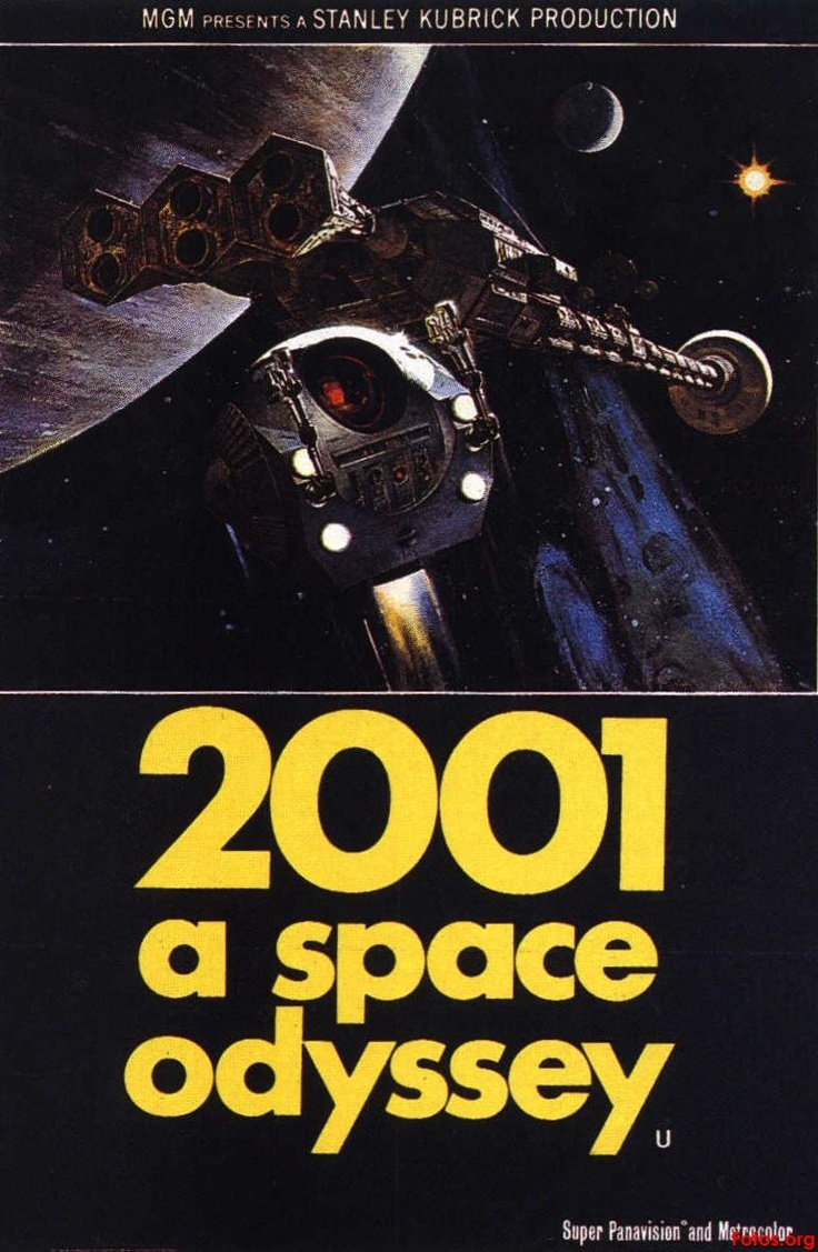 2001 A SPACE ODISSEY: Movie Posters, Scifi Movie, Odyssey 1968, Picture-Black Posters, Movie Timeline, Stanley Kubrick, 2001 A Spaces Odyssey Posters, Sci Fi, Favorite Movie