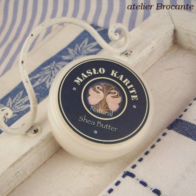 Czyste 100% masło karite , masło shea - atelier-Brocante - Masła do ciała