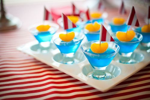 Cute summer jello shot idea