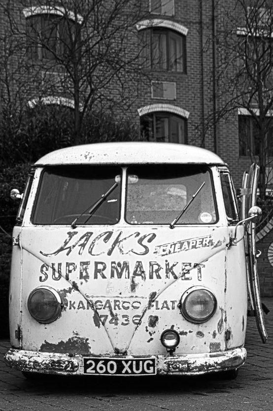 Vintage VW delivery Van