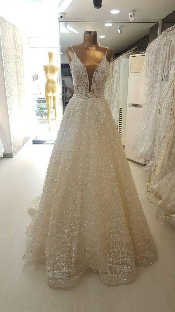 Berta Bridal Inspired A Line Bling Bling Wedding Dress Etsy In 2020 Bling Wedding Dress Etsy Wedding Dress Wedding Dresses Vintage Princess