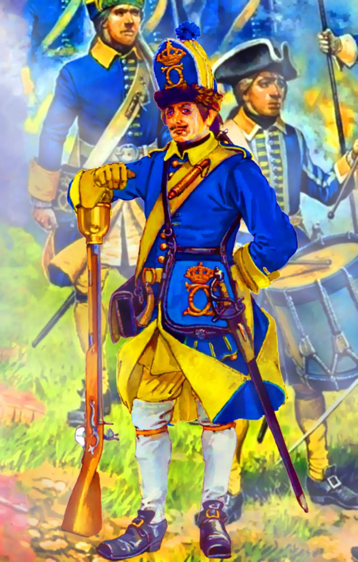 Swedish Grenadier during the Great Northern War