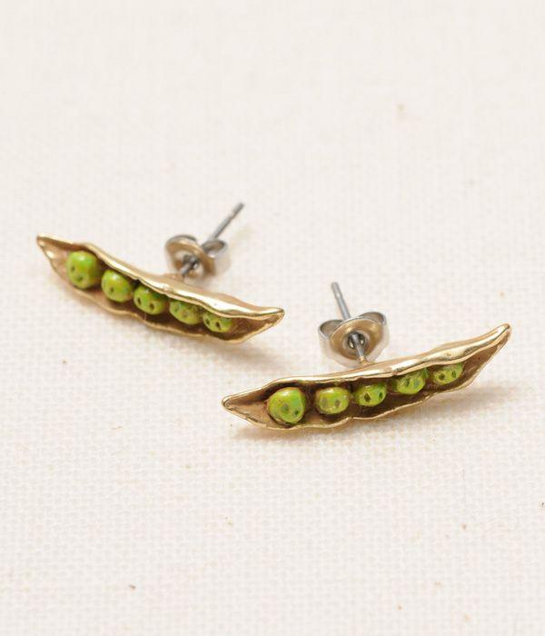 枝豆(ピアス)  green soybeans pierce by PalnartPoc