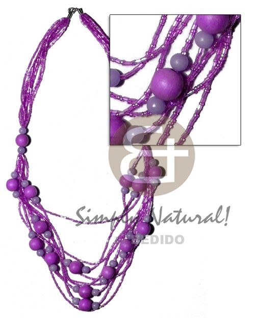 5 Rows Graduated Multilayered Teens Necklace