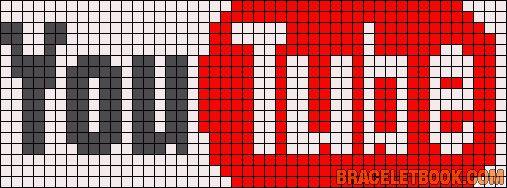 You Tube perler bead pattern