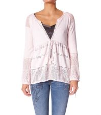 Odd Molly 672 Love Reactions Cardigan in Rose