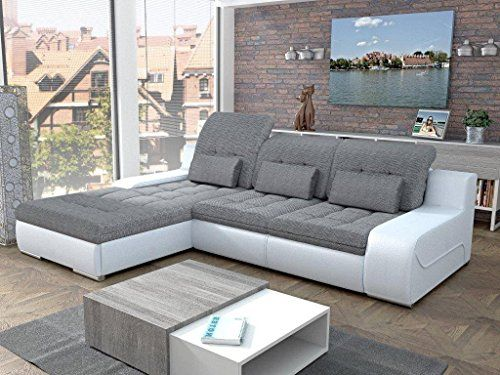 European Sleeper Sectional Sofa GIORGIO With Storage Modern ...