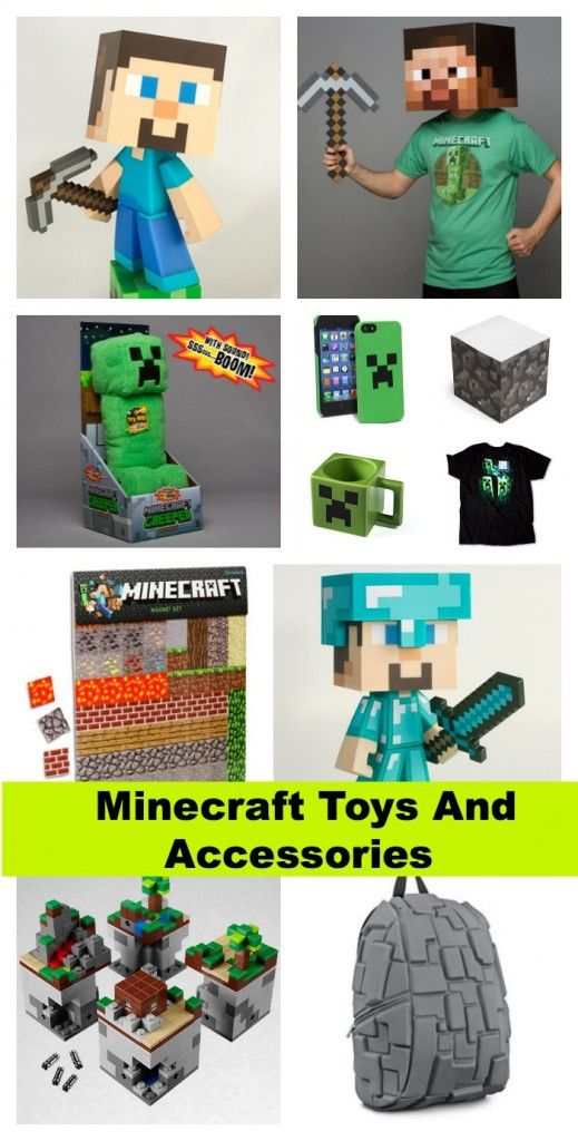 Where to find MINECRAFT Toys, Clothing and Accessories for Kids l @Vera Kulikova Sweeney (Ladyandtheblog.com)