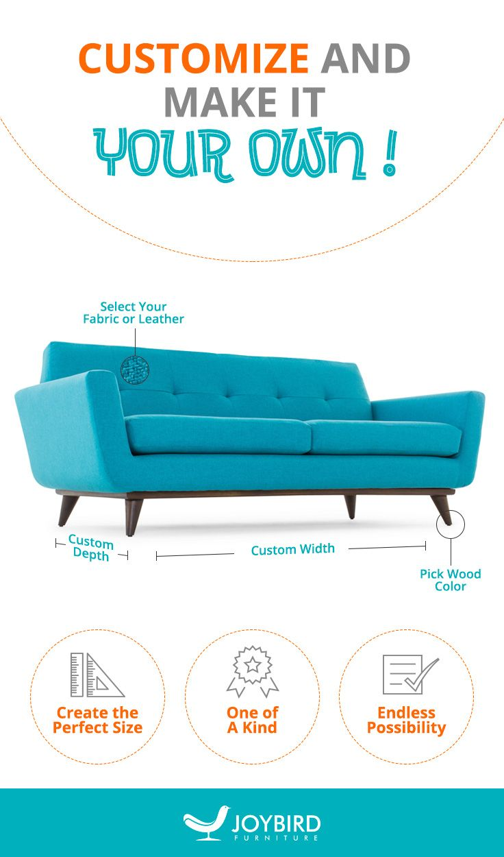 Premium quality designer furniture showroom to see touch and feel our - Get Premium Quality Furniture Made Just For You With Joybird With Limitless Options Including Size