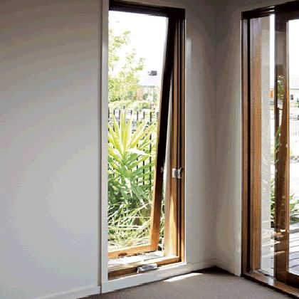 full length Awning - Meranti Awning Windows
