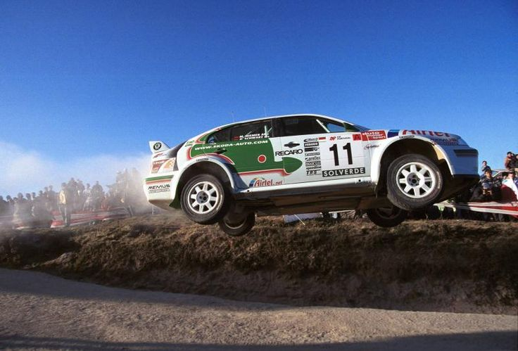 Armin Schwarz (Skoda Octavia WRC)