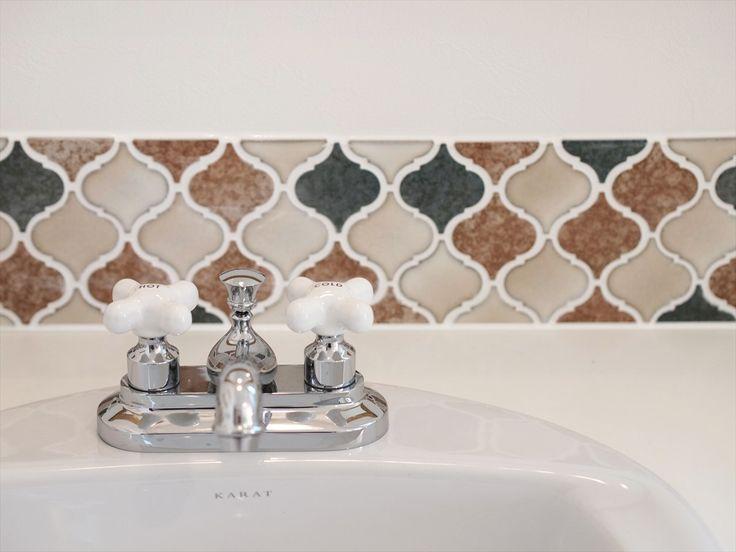 タイル/コラベル/洗面/注文住宅/インテリア/ジャストの家/tile/natural/design/interior/house/homedecor