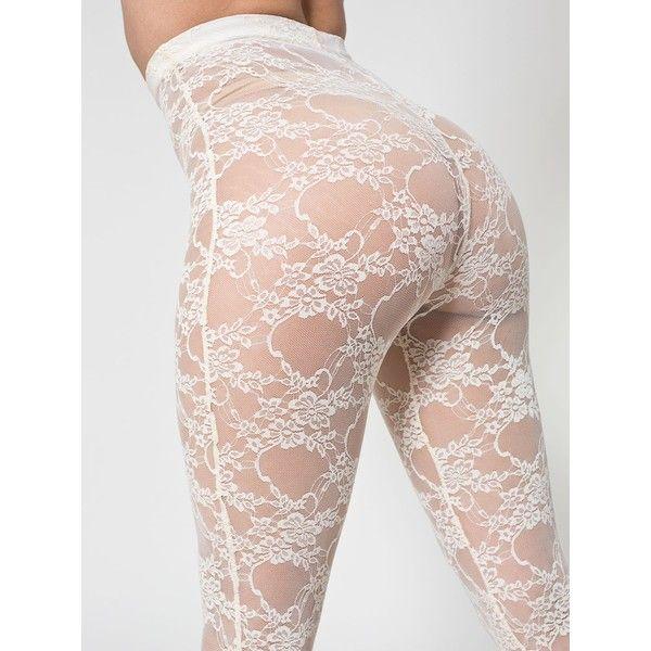 Women IceSilk Shiny Open Crotch Long Sheer Pants See Through Elastic Leggings KA