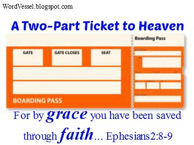 """Heaven goes by favor; if it went by merit, you would stay out and your dog would go in."" http://wordvessel.blogspot.com/2014/01/a-two-part-ticket-to-heaven.html"