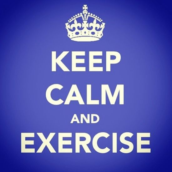 """""""Repin"""" if you exercised today!"""
