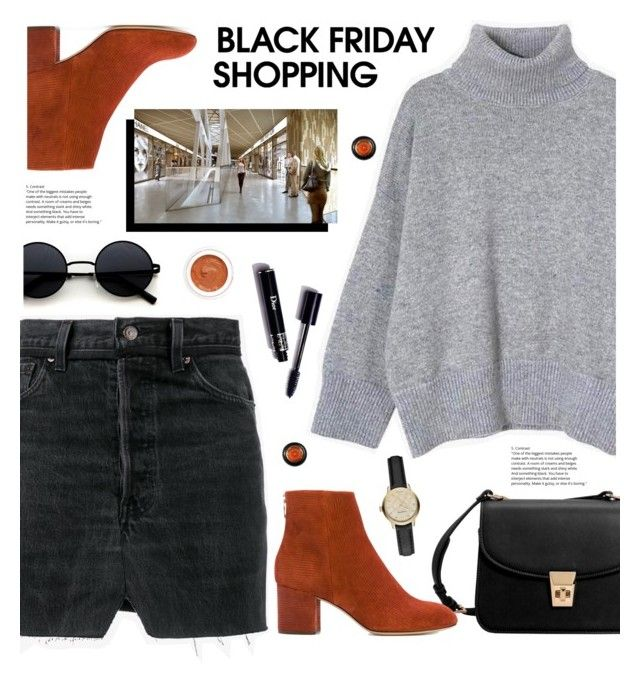 """Black Friday Shopping"" by tamara-p ❤ liked on Polyvore featuring MANGO, Vetements, rag & bone, Burberry, rms beauty, Origin 31 and blackfriday"