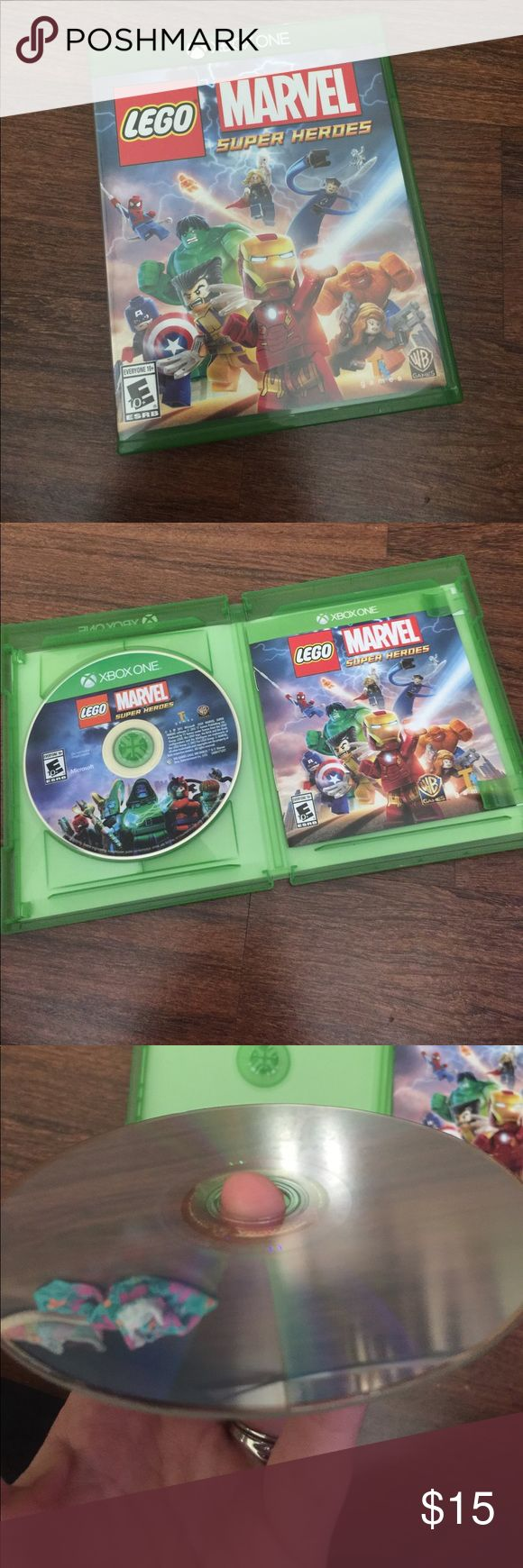 Lego marvel super heroes Lego marvel super heroes game for Xbox one new never been played but is no longer sealed Accessories