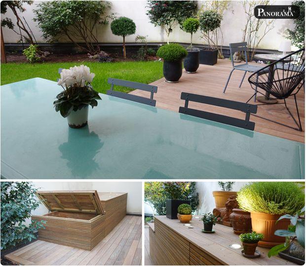 terrasse bois exotique cumaru paris 17 panorama terrasses coffre bardage claire voie