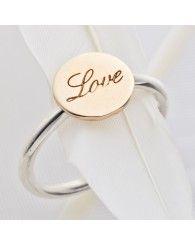 Palas Jewellery Love Disk Ring
