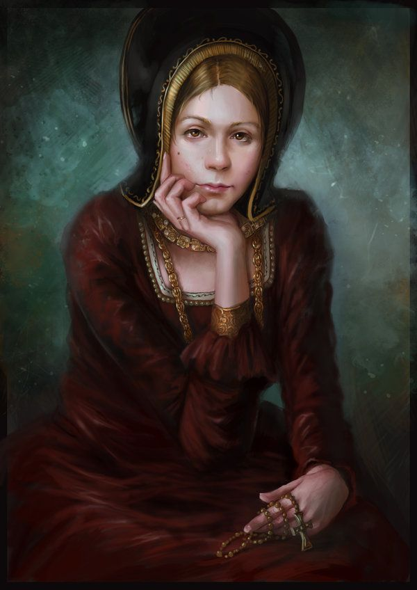 Tudor Queens - Catherine of Aragon, first wife of King Henry VIII of England....... by KristinaGehrmann: