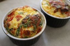 ei muffins eieren in een potje met tomaat en spinazie recept aanrader - healthy snack, gezonde snack of ontbijt #befitandfash