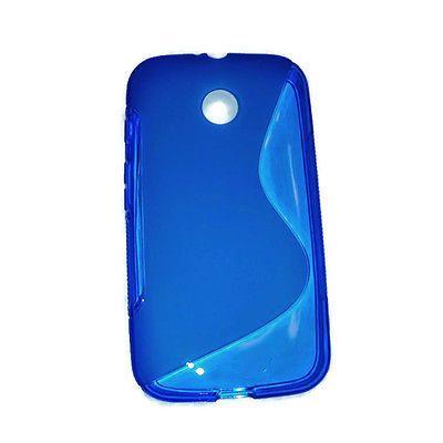 Blue Gel Case for Motorola Moto G - S Line in Cell Phones & Accessories | eBay