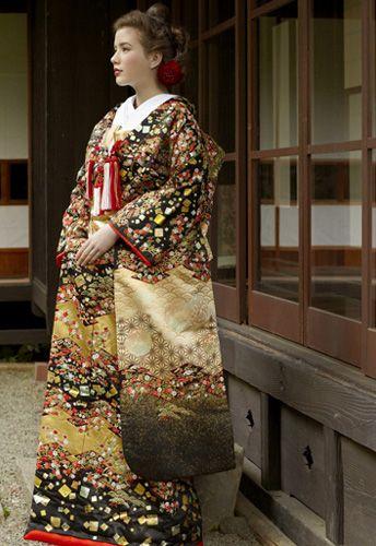 Kimono, Japan.