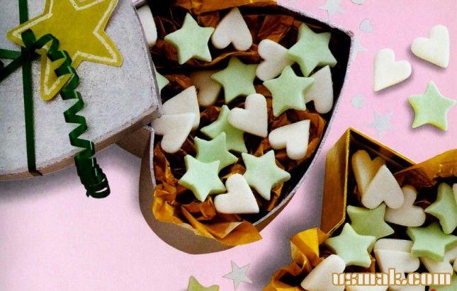Рецепт Мятные конфеты фото