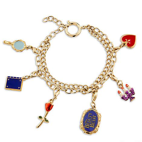 Beauty and the Beast: The Broadway Musical Charm Bracelet | Belle | Accessories | Disney Store Exclusive | Disney Store