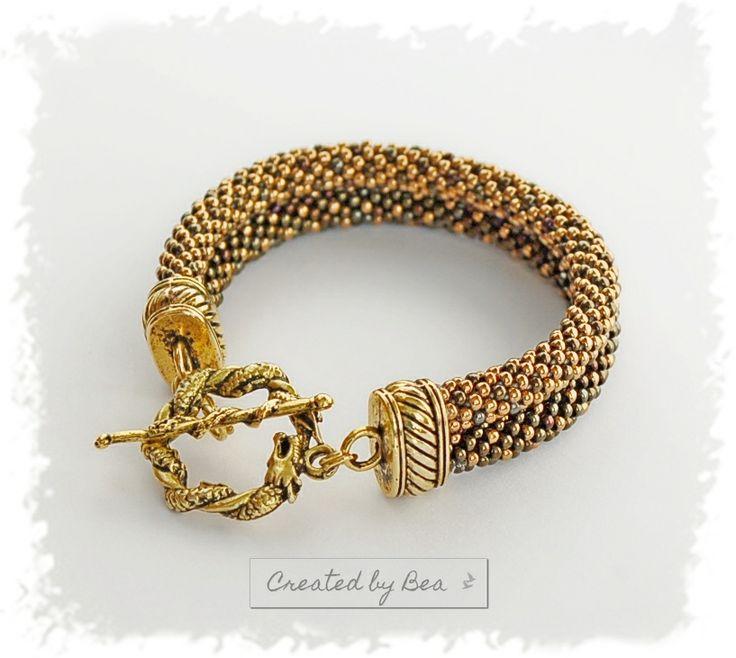 Autumn bracelet. http://createdbybea.blogspot.cz/