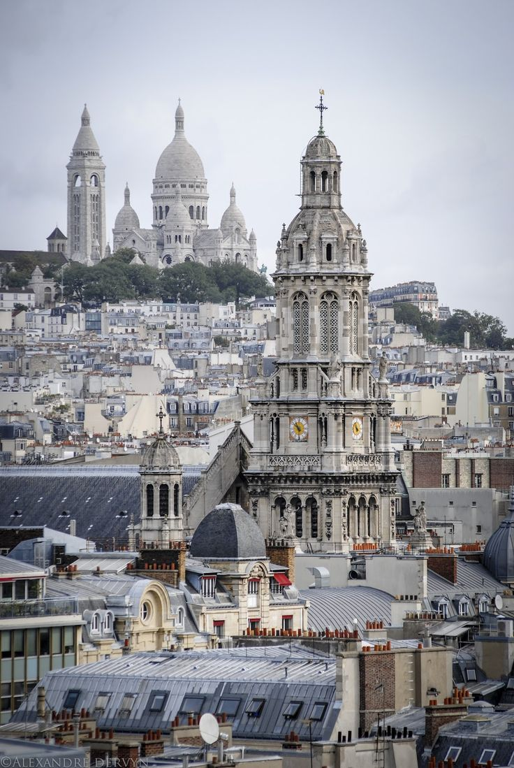 Vue d'en haut, Paris